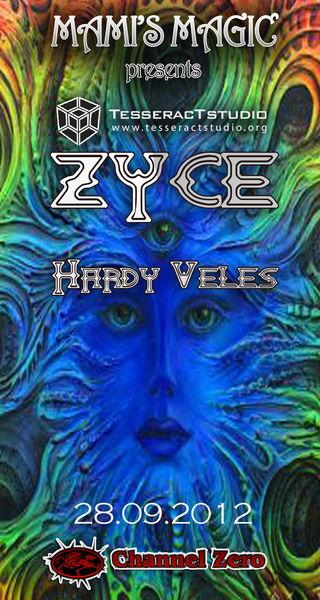 Party flyer: Mami'sMagic with Zyce & Hardy Veles 28 Sep '12, 23:00