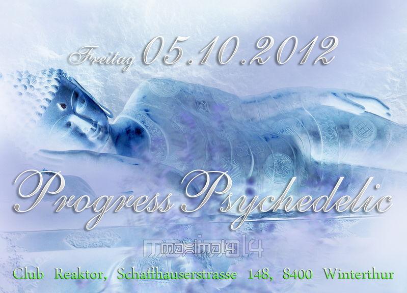 Party flyer: ProgressPsychedelic ((MAXIMAL4)) 5 Oct '12, 22:00