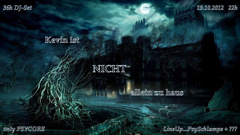 Party flyer: ...kevin ist NICHT allein zu haus... 19 Oct '12, 22:00