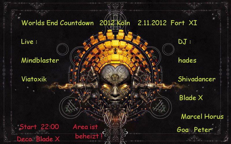 Worlds-End Countdown 2012 2 Nov '12, 22:00