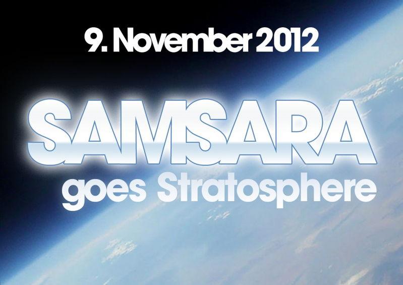 Samsara goes Stratosphere 9 Nov '12, 22:00