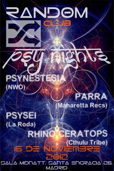 Random Club (Psy night) 16 Nov '12, 23:30