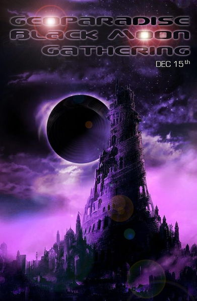GeoParadise Black Moon Gathering 15 Dec '12, 17:00