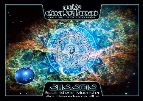 Party flyer: Projekt Dunkelbunt!!! 21 Dec '12, 22:00