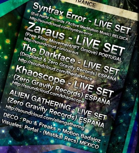 Party flyer: Psytrance new year@mama mandawa 31 Dec '12, 01:00