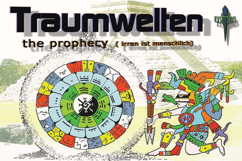Party flyer: ૐ TRAUMWELTEN ૐ SILVESTER SPECIAL 2012 31 Dec '12, 21:00