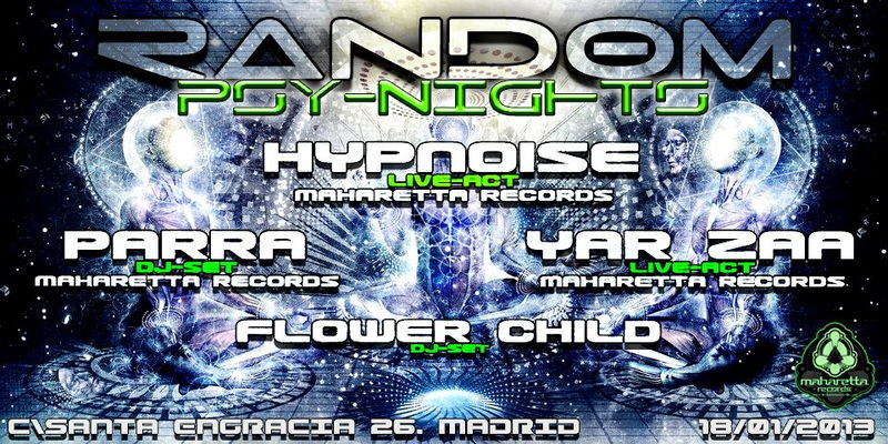 Random Club (Psy night) 18 Jan '13, 23:30