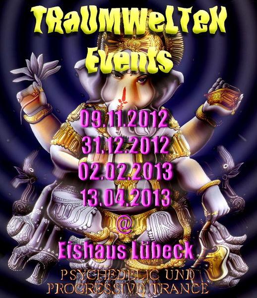 Party flyer: ૐ REMEMBER THE TIMES ૐ MEETS UMBRELLA DJANE NIGHT 2 Feb '13, 21:30