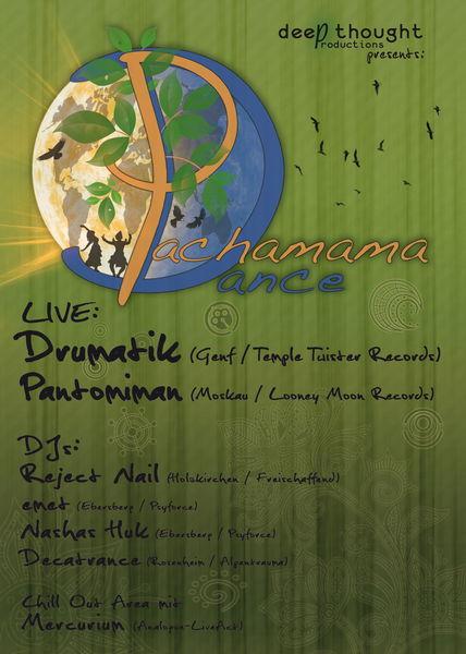 Pachamama Dance mit Drumatik und Pantomiman 23 Feb '13, 21:00