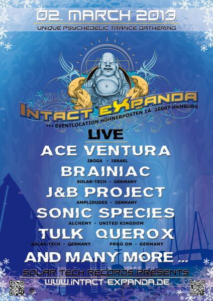 Intact Expanda 2013 * timetabe online 2 Mar '13, 22:00