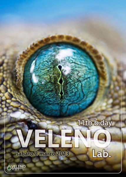 VELENO Laboratory // 11 years of Sound Lab. // BitKit LIVE! 2 Mar '13, 22:00
