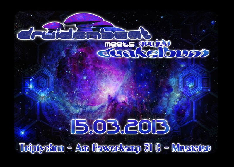 DruidenBeat meets Projekt Dunkelbunt Sonic Tickle Live 15 Mar '13, 23:00