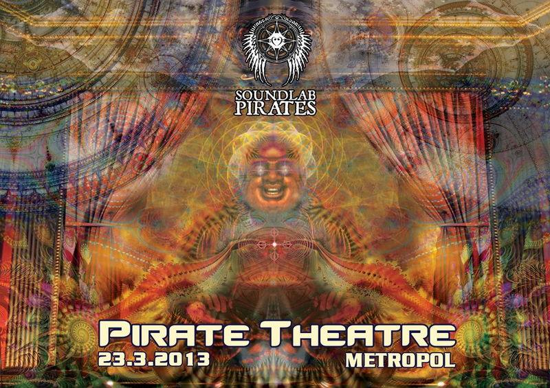 Party flyer pirate theatre time table online 23 for 13 a table theatre