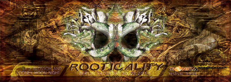 ROOTICALITY#2 - SONICA FESTIVAL TEASER - Psytrance&Hightech night 30 Mar '13, 23:00