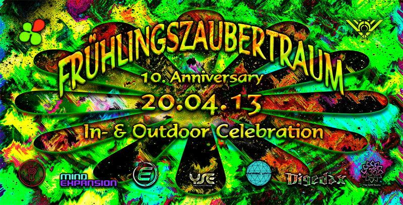 Frühlingszaubertraum 2013 ~ 10. Anniversary ~ 20 Apr '13, 22:00