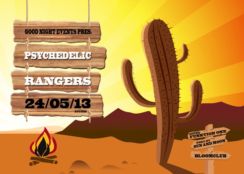 Psychedelic Rangers with FUNKTION ONE SOUNDSYSTEM 24 May '13, 22:00
