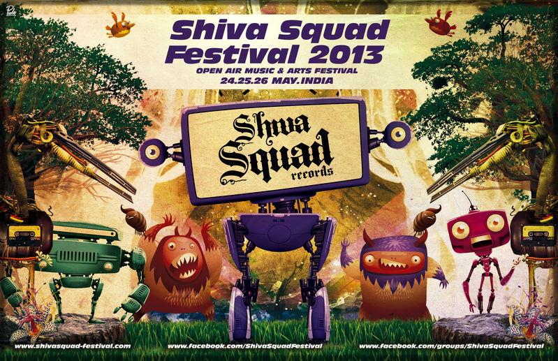 Party flyer: SHIVA SQUAD FESTIVAL 2013 24 May '13, 10:00