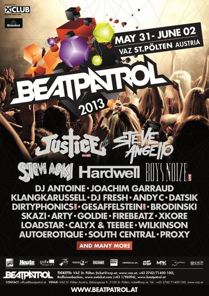 BEATPATROL FESTIVAL 2013 31 May '13, 12:00