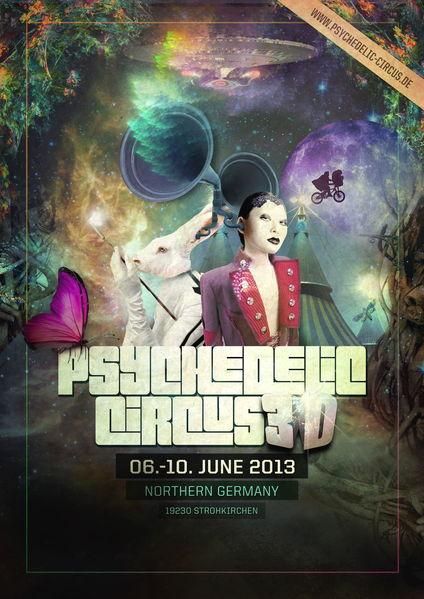 Psychedelic Circus 6 Jun '13, 14:00