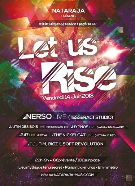 Nataraja - Let us Rise ! 14 Jun '13, 22:00