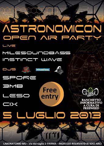 ASTRONOMICON - free entry 5 Jul '13, 23:00