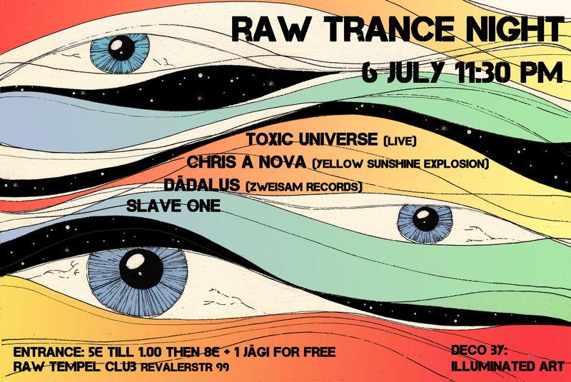 RAW TRANCE NIGHT BERLIN 6 Jul '13, 23:30