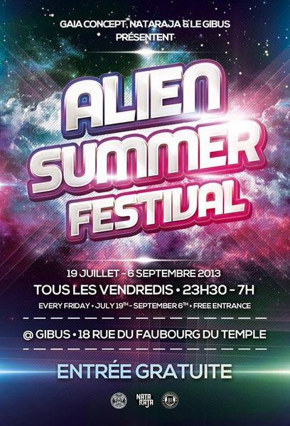 Alien Summer Festival 19 Jul '13, 23:00