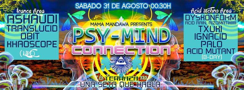 Psy-Mind Connection @ Mama Mandawa 31 Aug '13, 12:30