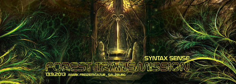 SYNTAX SENSE-FOREST TRANSMISSION 13 Sep '13, 22:00