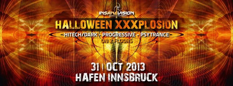 INSANE VISION -HALLOWEEN XXXPLOSION- on 2 FLOORS 31 Oct '13, 22:00