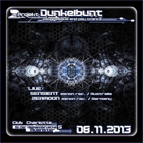 Projekt Dunkelbunt mit Sensient und Zeamoon 8 Nov '13, 23:00