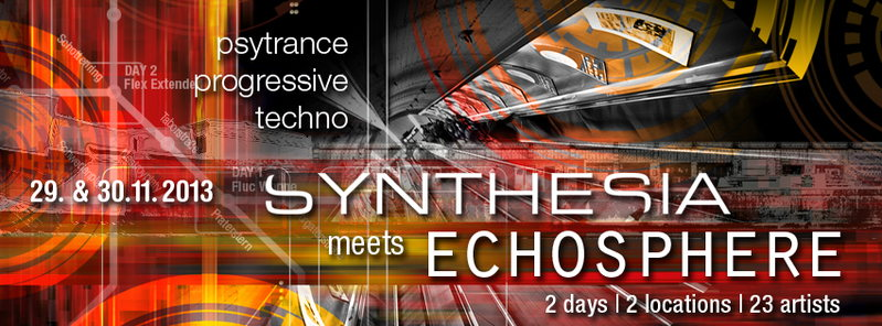 ►►ECHOSPHERE meets SYNTHESIA (day2) 30 Nov '13, 22:00