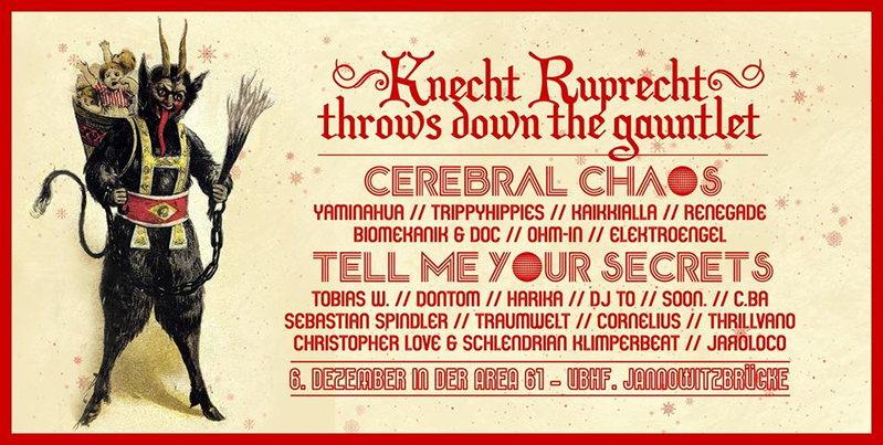 ● Knecht Ruprecht throws down the gauntlet ● 6 Dec '13, 22:00