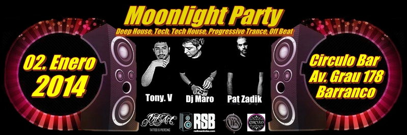 Moonlight Party (new year edition) 2 Jan '14, 22:00