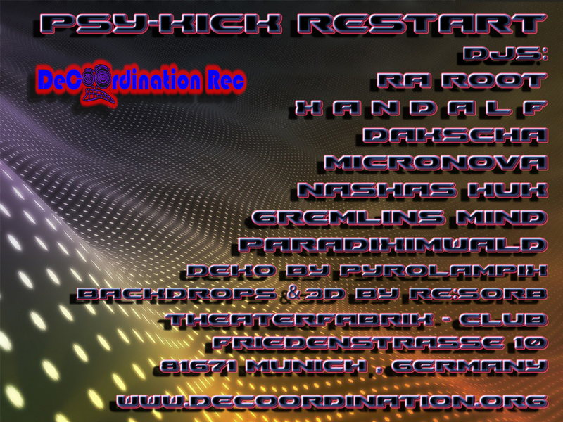 -Psy-Kick- RESTART 3 Jan '14, 23:00