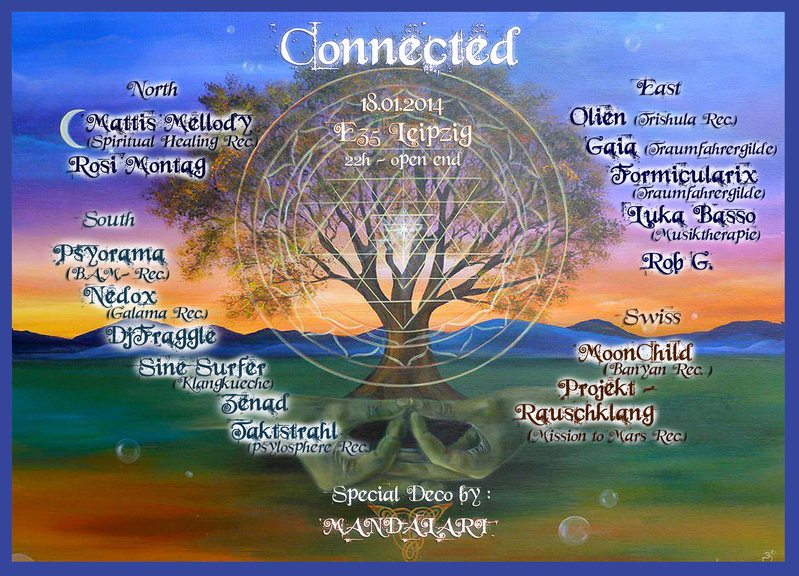 Party flyer: Connected Formicularix feiert 30igsten 18 Jan '14, 21:00