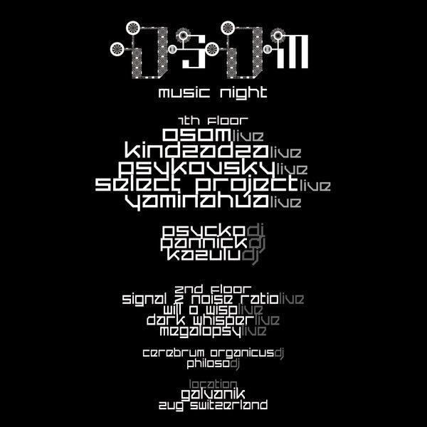 OSOM MUSIC NIGHT 1 Feb '14, 20:00