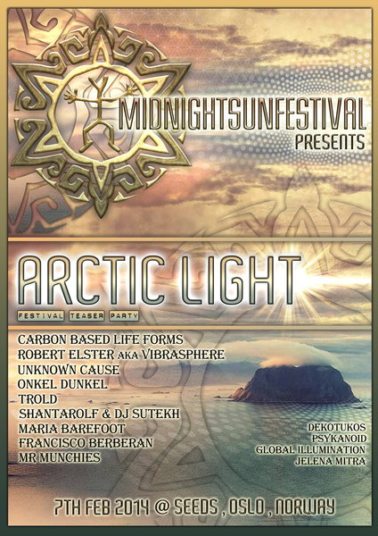 Arctic Light ~ Midnight Sun Festival teaser 7 Feb '14, 19:00