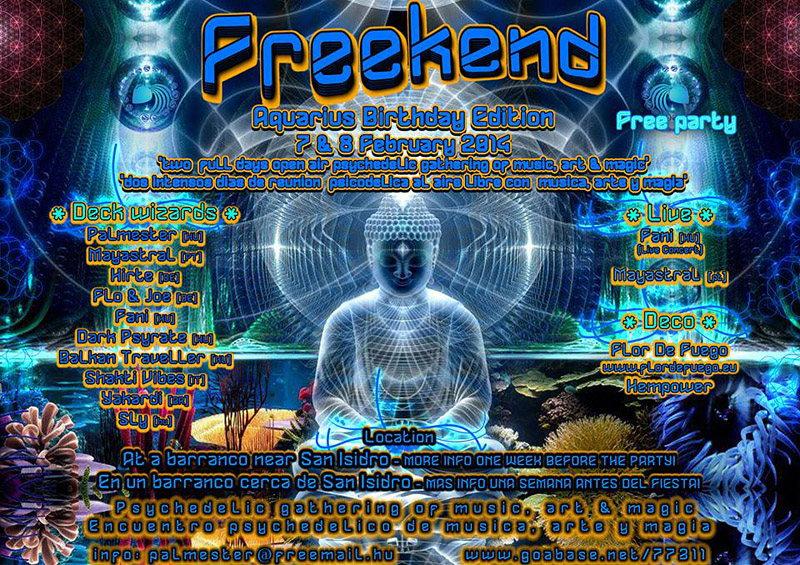 Freekend - Aquarius Birthday Edition 7 Feb '14, 20:00