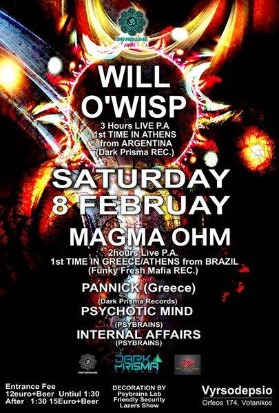 PSYBRAINS HIGHTECH EVENT 8 Feb '14, 23:30