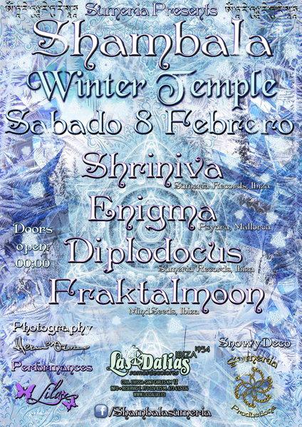 SHAMBALA WINTER TEMPLE 8 Feb '14, 23:30