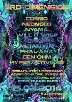 3rd Dimension 15 Feb '14, 22:00