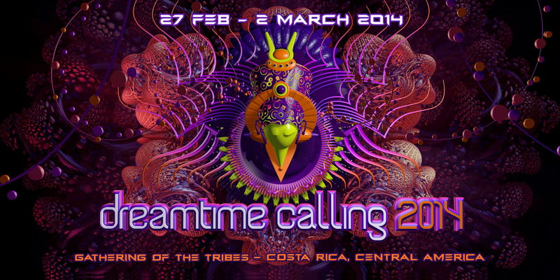 Dreamtime Calling - Gathering of the Tribes 27 Feb '14, 07:00