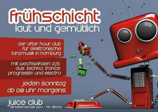 """Frühschicht """"laut & gemütlich"""" 6 Apr '14, 08:00"""