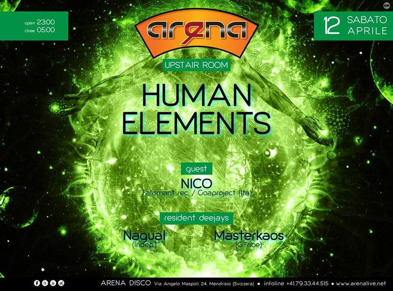 HUMAN ELEMENTS 12 Apr '14, 23:00