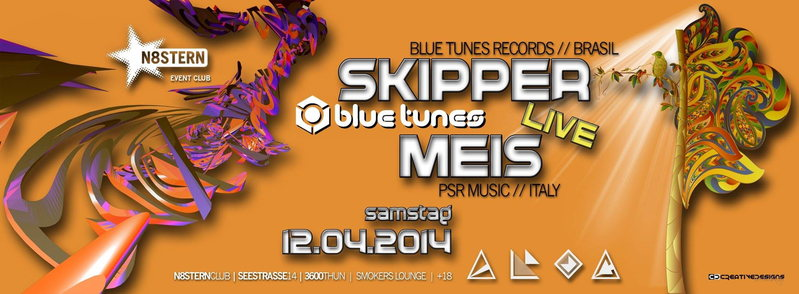 SKIPPER & MEIS - Live @ N8STERN Thun 12 Apr '14, 22:00