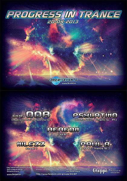 Progress In Trance 20 Apr '13, 23:00