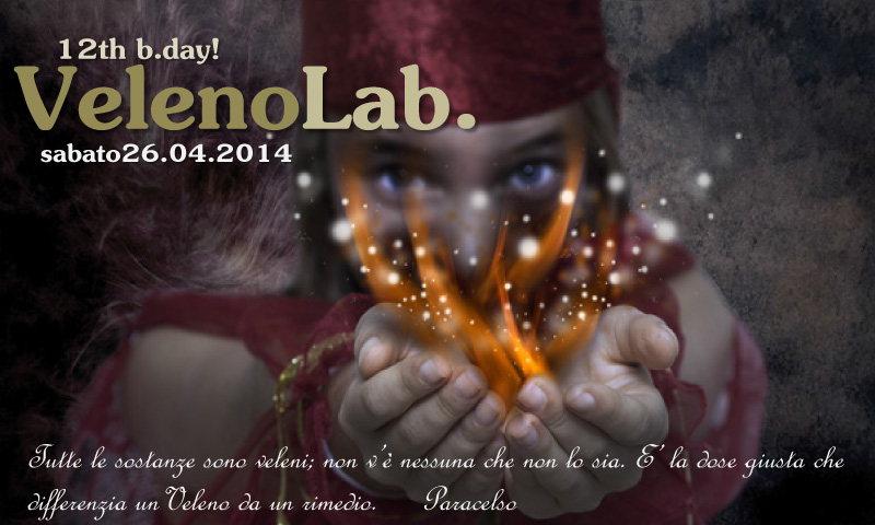 VELENO Laboratory // 12 years of Sound Lab. // 26 Apr '14, 19:00