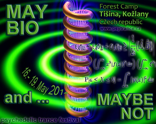 Party flyer: MAY BIO and maybe not 16 May '14, 19:00