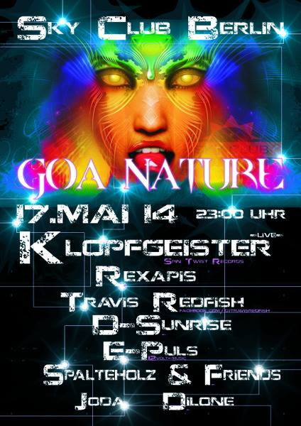 GOA NATURE with Klopfgeister live 17 May '14, 23:00